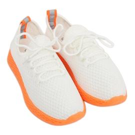 Calzado deportivo blanco y naranja NB283 Fluorescence Orange