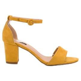 Amarillo Sandalias VICES con estilo
