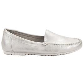Goodin Mocasines cómodos gris