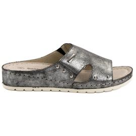 Goodin Zapatillas cómodas gris