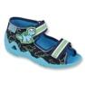 Zapatillas befado verde para niños 250P088