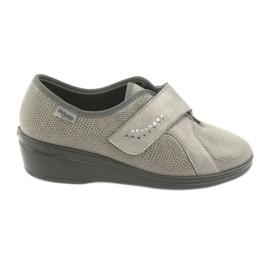 Zapatos de mujer befado pu 032D003 gris