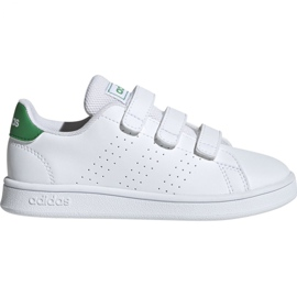 Zapatillas Adidas Advantage C Jr EF0223 blanco