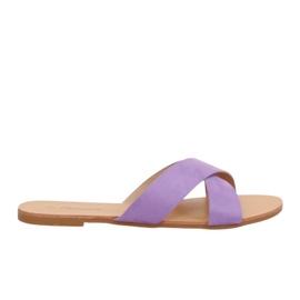 Zapatillas mujer violeta 930 morado púrpura