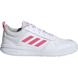 Blanco Zapatillas Adidas Tensaur K Jr. EF1088