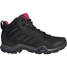 Zapatillas de trekking adidas Terrex AX3 Mid Gtx W BC0590 negro