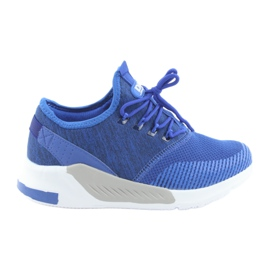 Calzado deportivo de hombre DK 18470 azul real
