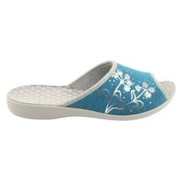 Zapatos de mujer befado pu 254D102. azul