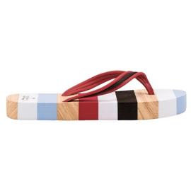 Ax Boxing multicolor Flip-flops en plataforma
