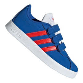 Azul Zapatillas Adidas Vl Court 2.0 Cmf C Jr EE6904