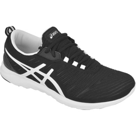 Negro Zapatillas de correr Asics Supersen M T623N-9001