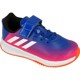 Azul Zapatillas Adidas Rapida Turf Messi Kids BB0235