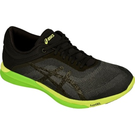 Negro Zapatillas de correr Asics fuzeX Rush M T718N-9790
