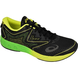 Negro Zapatillas de correr Asics Noosa Ff M T722N-9085
