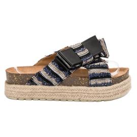 Vices negro Zapatillas textiles en plataforma