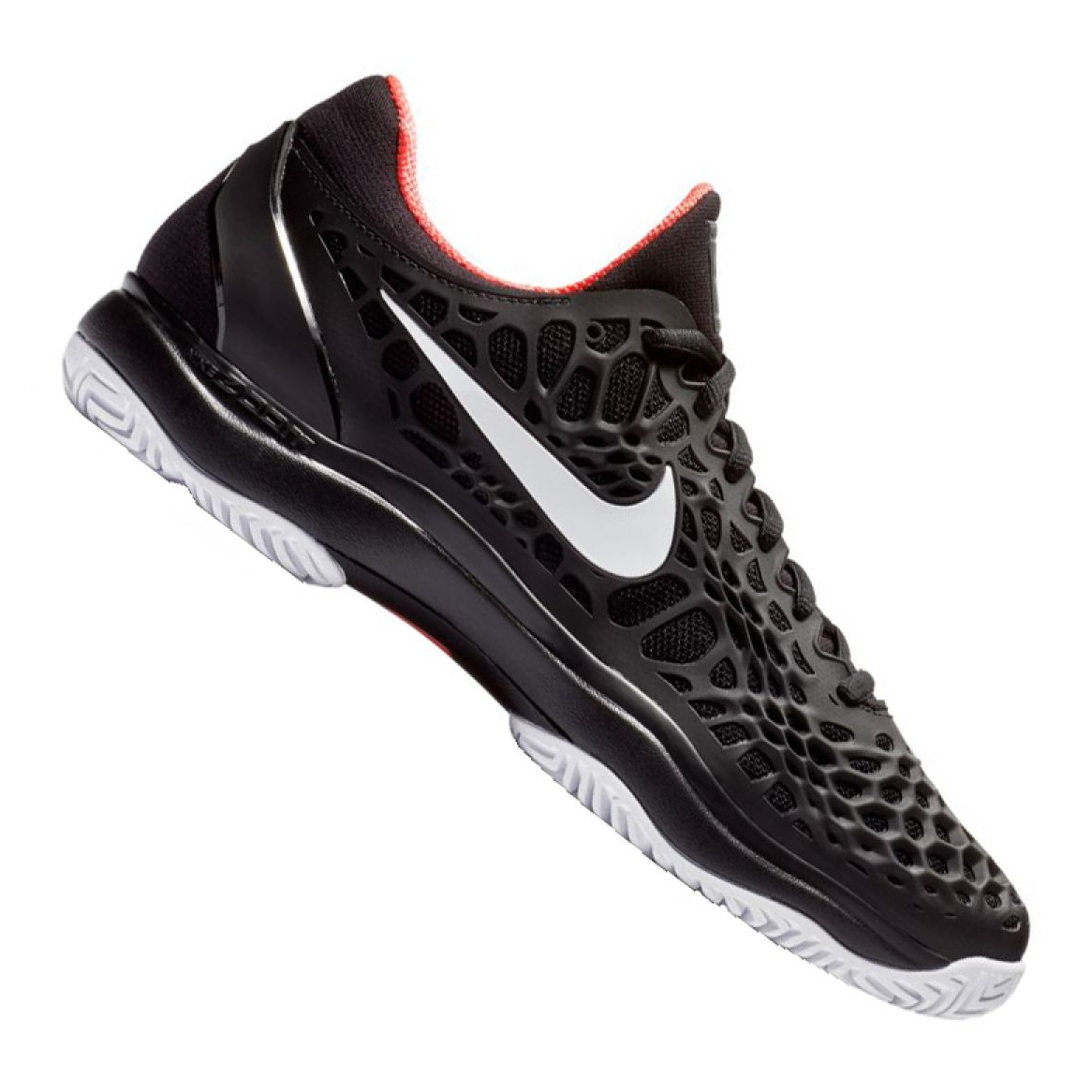 Cage 026 De Nike 3 Zapatillas M Negro 918193 Air Tenis Zoom QdeCWBxro