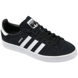 Negro Zapatillas Adidas Originals Campus Jr BY9580 negras