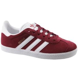 Adidas Gazelle Jr CQ2874 zapatos rojos