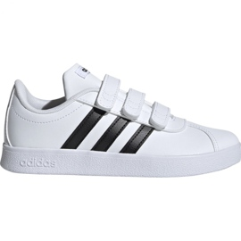 Zapatos Adidas Vl Court 2.0 Cmf C blanco Jr. DB1837