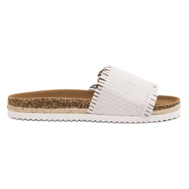 Blanco Flip Flops VICES