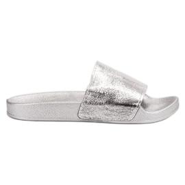 Small Swan gris Zapatillas casuales de mujer