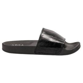 Small Swan negro Zapatillas casuales de mujer
