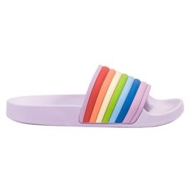 Sweet Shoes Zapatillas de goma de colores