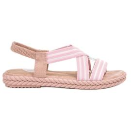 Seastar rosa Sandalias cómodas de las mujeres