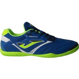 Botas de fútbol Joma Maxima 904 Sala In M azul