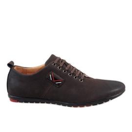 Zapatos de hombre marrón WF932-3