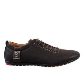 Zapatos de hombre marrón WF933-3