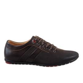 Zapatos de hombre marrón WF931-3