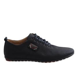 Zapatos de hombre negro WF932-1