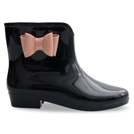 Galoshes Arcos Con Arco NEW2 Negro
