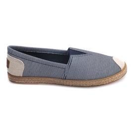 Zapatillas Alpargatas Lino 326 Azul
