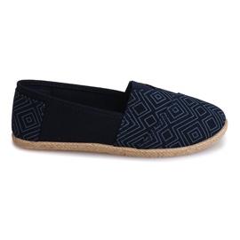 Zapatillas Alpargatas Lino B211-3 Azul
