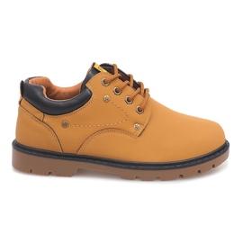 Marrón Zapatos Clásicos Botines JX-20 Camel