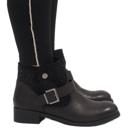 Marquiiz Botas BY95 decoradas en negro
