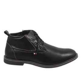 Zapatos de hombre con aislamiento negro 9W-BK86417