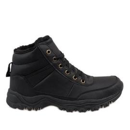 Botas de nieve con aislamiento negro GT-9578