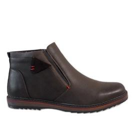 Marrón Zapatillas aislantes marrones A20184-3