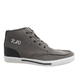 Marrón Zapatos altos elegantes marrones F10455