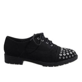 Zapatos Negros Jazzówki Czwieki ST2721