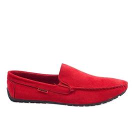 Mocasines rojos elegantes AB96K-2