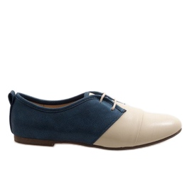 Zapatos oxford beige dos oxford