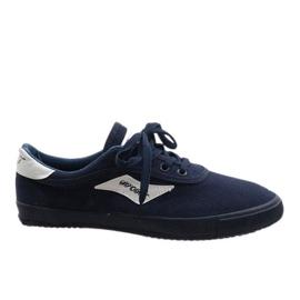 Marina Zapatillas de hombre azul marino HW01