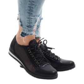 Zapato calado negro TL44