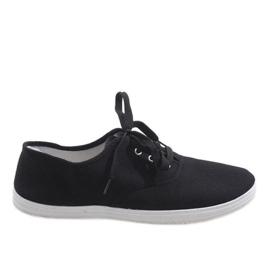 Zapatillas deportivas hombre negro SR13103
