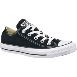 Zapatos Converse C. Taylor All Star Ox Negro M9166C