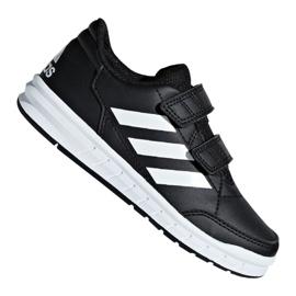 Negro Zapatillas Adidas AltaSport Cf Jr D96829